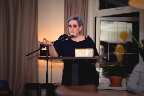 Speech 2 @ boekenparty